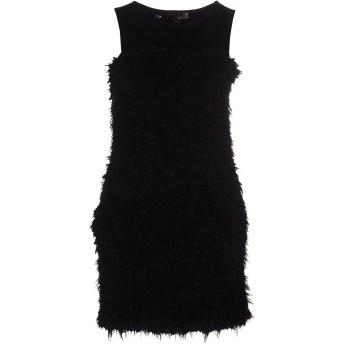 《セール開催中》LOVE MOSCHINO レディース ミニワンピース&ドレス ブラック 40 100% ポリエステル