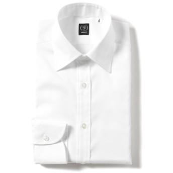 BEAMS F / ピンオックス セミワイドカラーシャツ メンズ ドレスシャツ WHITE/W 40