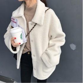 ジャケット コート ボア 無地 カジュアル フェミニン 秋冬 女子会 トレンド オフホワイト PHTB0006