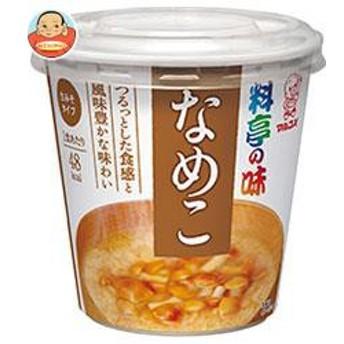 送料無料 マルコメ カップ料亭の味 なめこ 1食×6個入