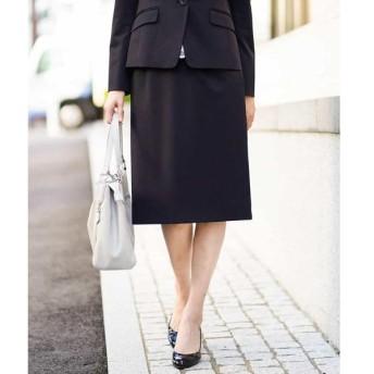 MICHEL KLEIN / ミッシェルクラン 【セットアップ対応/洗える】ストレッチセミフレアスカート