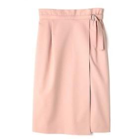 NATURAL BEAUTY / ナチュラルビューティー アシンメトリーラップタイトスカート