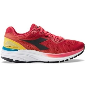 ディアドラ(diadora) レディース ランニングシューズ MYTHOS BLUSHIELD 3 W レッド×ブラック 174468 7861 靴 ジョギング マラソン トレーニング シューズ