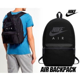 ナイキ バックパック NIKE AIR BACK PACK BLACK リュック カバン エア バッグパック