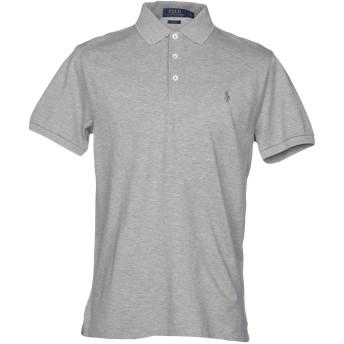 《セール開催中》POLO RALPH LAUREN メンズ ポロシャツ ライトグレー S コットン 97% / ポリウレタン 3%