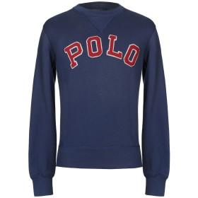 《期間限定セール開催中!》POLO RALPH LAUREN メンズ スウェットシャツ ブルー S コットン 85% / ポリエステル 15%