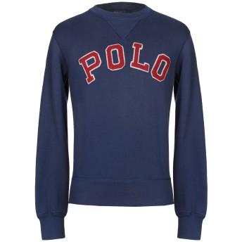 《9/20まで! 限定セール開催中》POLO RALPH LAUREN メンズ スウェットシャツ ブルー S コットン 85% / ポリエステル 15%