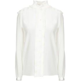 《期間限定 セール開催中》VANESSA SEWARD レディース シャツ ホワイト 36 シルク 100%
