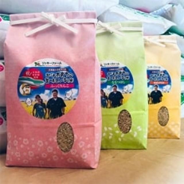 【玄米】リッキーファームのお米【ふっくりんこ2kg・ななつぼし2kg・ゆめぴりか2kg】
