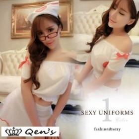 コスプレ コスチューム 制服 衣装 ホワイト レディース 白衣の天使 ナース服 仮装 ハロウィン セクシー 看護婦