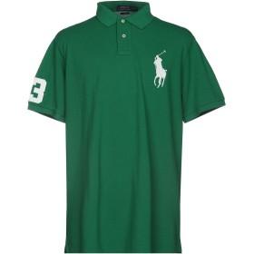 《期間限定セール開催中!》POLO RALPH LAUREN メンズ ポロシャツ グリーン S コットン 100%