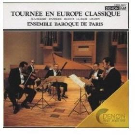 パリ・バロック・アンサンブル/ヨーロッパ・クラシック音楽の旅 【CD】