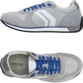 《セール開催中》GEOX メンズ スニーカー&テニスシューズ(ローカット) グレー 39 革 / 紡績繊維