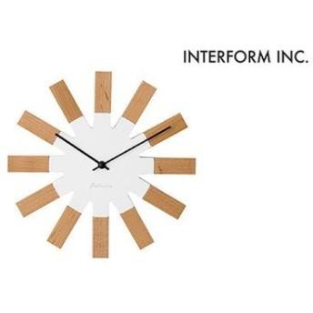 掛け時計 ヴィエルコ ホワイト ライフスタイル インテリア・雑貨 置き時計・掛け時計 au WALLET Market