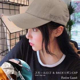 即納・一部6/21頃発送予定 夏新作 キャップ ロゴ スモールロゴ 帽子 韓国 ファッション / スモールロゴキャップ