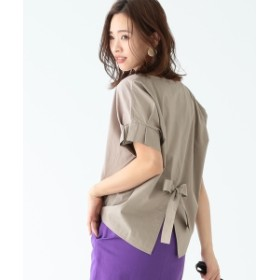 B:MING by BEAMS / コンビタック袖 プルオーバー 19SS レディース カットソー BEIGE ONE SIZE