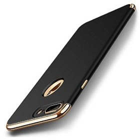 iPhone 7 ケース iPhone 8 ケース メタリック ツートン配色 ハイブリッド ケース 3パーツ式 衝撃防止 おしゃれ (iPhone 7/8,ブ ...