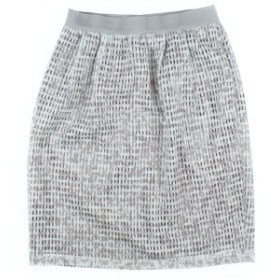 NOLLEY'S Sophi / ノーリーズソフィー レディース スカート 色:白系xグレー系x茶系(総柄) サイズ:36(S位)