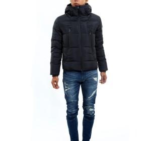 ダウンジャケット・ダウンコート - improves メンズファッション ダウンジャケット ブルゾン メンズ ボリュームネックリアルダウンジャケット ダウン フェザー アウター コートジャケットメンズ軽量 防寒着 無地 メンズファッション メンズ お兄系 ストリート系 オラオラ系