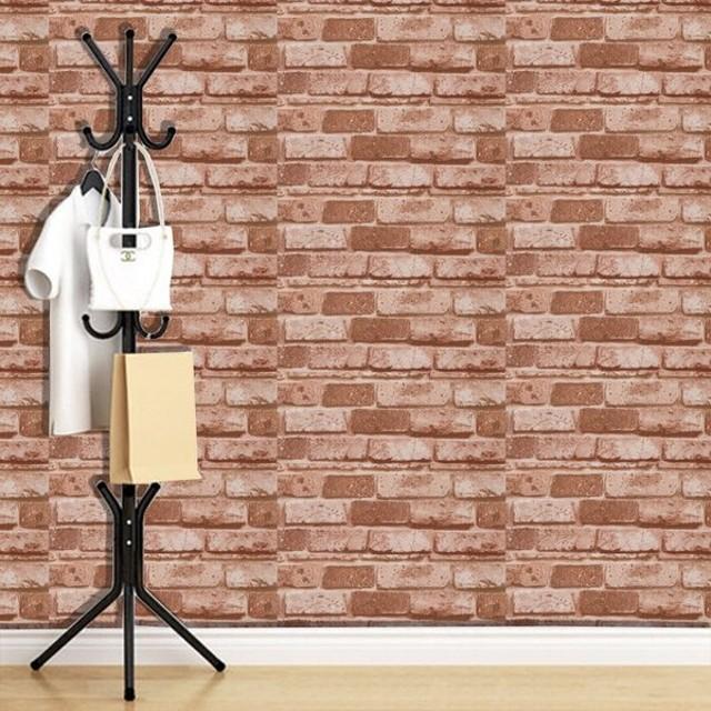 ウォールステッカー ウォールシール 壁紙 壁面装飾 レンガ カフェ 模様替え DIY
