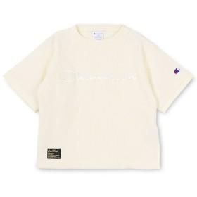 【40%OFF】 ブランシェス ワッフル半袖Tシャツ(90~140cm) レディース オフホワイト 110cm 【branshes】 【セール開催中】