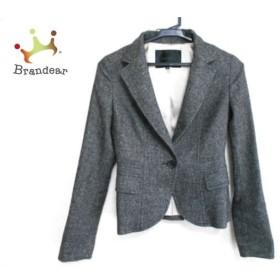 アンタイトル UNTITLED ジャケット サイズ0 XS レディース 美品 黒×白     スペシャル特価 20190603