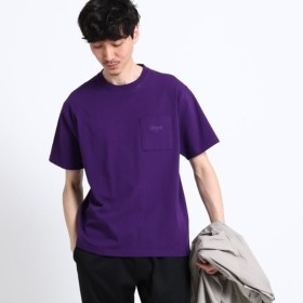 [マルイ]【セール】【WEB一部店舗限定USAコットン】クルーネックカラービッグTシャツ/ザ ショップ ティーケー(メンズ)(THE SHOP TK Mens)