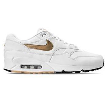 ナイキ メンズ スニーカー Nike Air Max 90/1 Casual Shoes エアマックス 90 White/Metallic Gold/Black