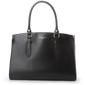 サマンサタバサデラックス ベルトデザインバッグ(大) ブラック