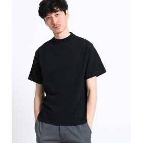 THE SHOP TK(Men)(ザ ショップ ティーケー(メンズ)) 【WEB限定】【USAコットン】モックネックTシャツ