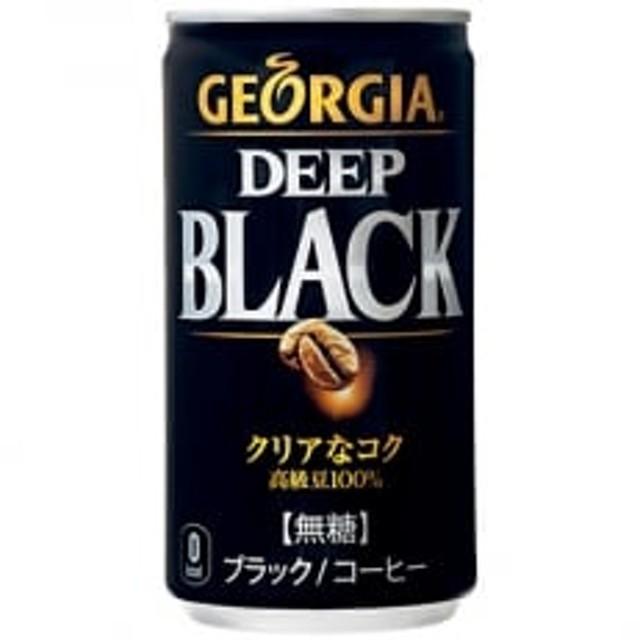 【コカ・コーラ社】ジョージアディープブラック 185g×30缶