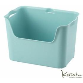 収納ボックスKatasu(カタス) ハコ L ブルー カラーボックス