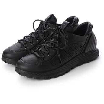 エコー ECCO Mens EXOSTRIKE Outdoor Shoe (BLACK)