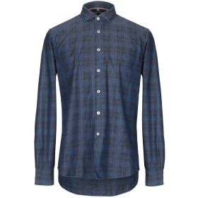 《期間限定セール開催中!》ALLEY DOCKS 963 メンズ デニムシャツ ブルー XXL コットン 100%