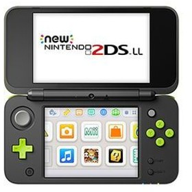 New ニンテンドー2DSLL ブラック×ライム 家電 TVゲーム TVゲーム本体 au WALLET Market