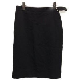 美品 エルメス SIZE 36 (M) ウール スカート HERMES レディース  中古