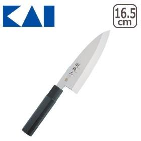 貝印 金寿 ST 和包丁 出刃 165mm 関孫六 調理器具 000AK1102