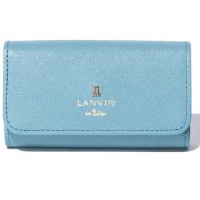 ランバンオンブルー(バッグ) リュクサンブールカラー キーケース レディース ブルー F 【LANVIN en Bleu(BAG)】