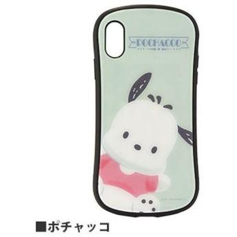 グルマンディーズ サンリオキャラクターズ ハイブリッドガラスケース ポチャッコ iPhone XR用 SAN-927PC