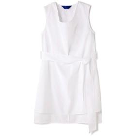 アッシュ・スタンダード H/standard [JENS]Sleeveless Tunic ホワイト M【税込10,800円以上購入で送料無料】