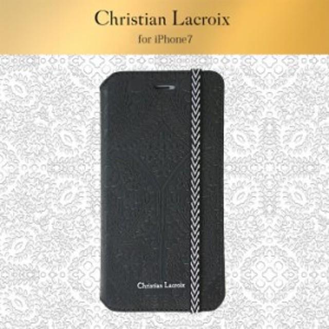 0ec91f7e42 iPhone8 iPhone7 用 手帳型ケース Folio Case Christian Lacroix クリスチャン・ラクロワ 公式ライセンス品
