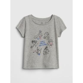 Gap グラフィック半袖Tシャツ (幼児)