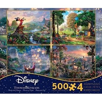 Disney(ディズニー) クラシックパズルセット 500ピース×4 【ミッキーマウス】【クマの (未使用の新古品)
