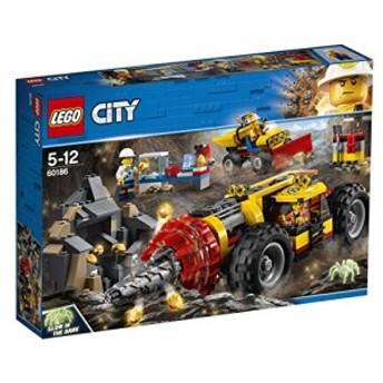 レゴ(LEGO) シティ ガリガリドリルカー 60186(中古品)