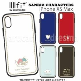 iPhone XS Max 対応 iPhoneXSMax ケース カバー サンリオ IIIIfitケース ハイブリッドケース SANRIO キティ マイメロ キキララ