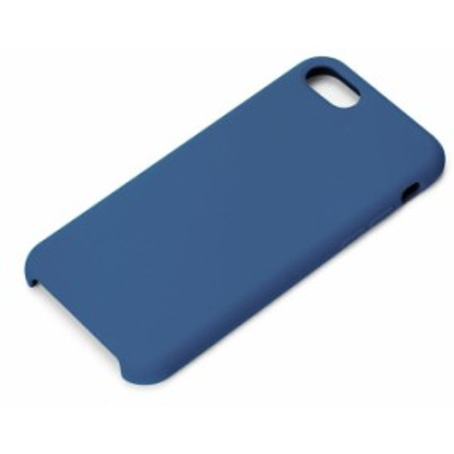 5cf7b7999c iPhone8 iPhone7 用 iPhone ケース シリコンケース ネイビー PGA PG-17MSC14NV