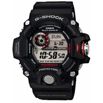 [ジーショック]G-SHOCK 腕時計 レンジマン GW-9400-1 ブラック メンズ[並行(未使用の新古品)