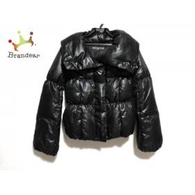 ブラックバイマウジー BLACK by moussy ダウンジャケット サイズ1 S レディース 美品 黒 冬物  値下げ 20190603【人気】