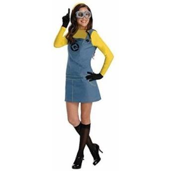 [Mサイズ]ミニオン コスプレ 衣装 大人 怪盗グルー ミニオンの女性用コスチ(未使用の新古品)