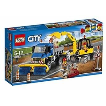レゴ (LEGO) シティ 道路清掃車とパワーショベル 60152(中古品)